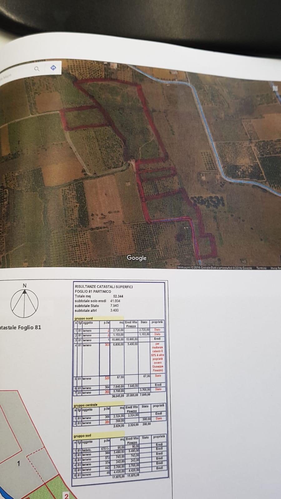 Terreno 5 Ettari C.da Bosco Falconeria/Partinico