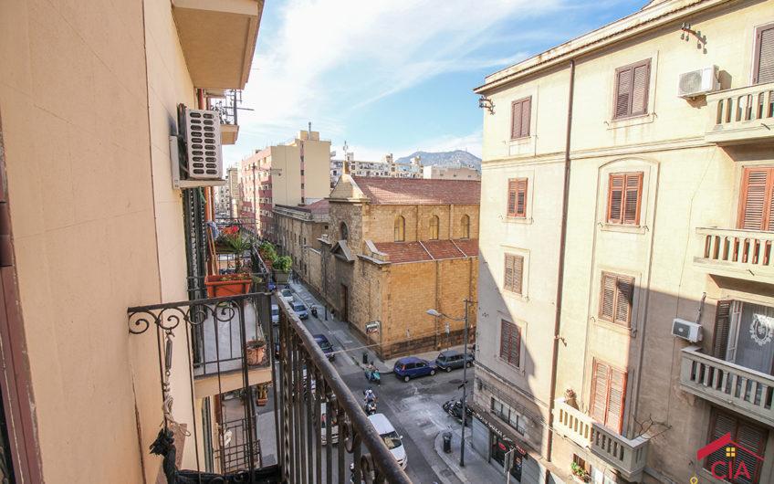 Dante/Via Cusmano – 5 ambienti su due livelli terrazzo